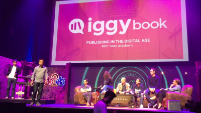 Iggybook lauréat du Global Challenge au Web2day